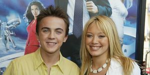 Frankie Muniz-Hilary Duff