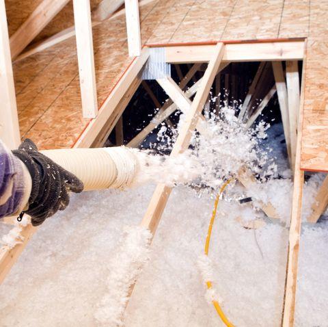 Water, Room, Wood, Building insulation, Window, Floor, Attic, House, Winter,