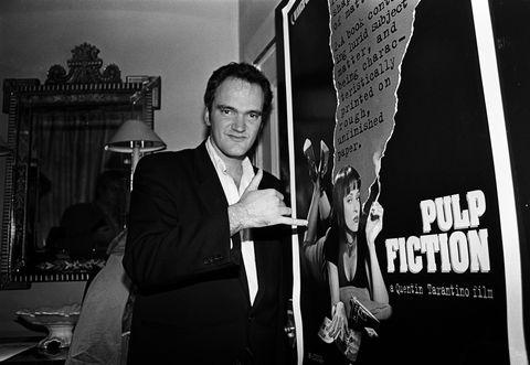 Quentin Tarantino London 1994