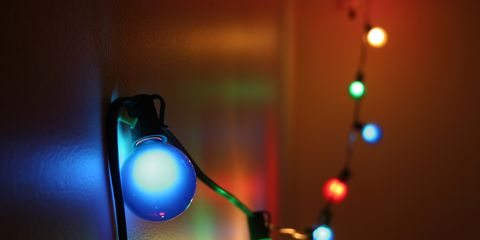 Colorful Christmas Lights Aesthetic.How To Hang Outdoor String Lights How To Put Up Christmas