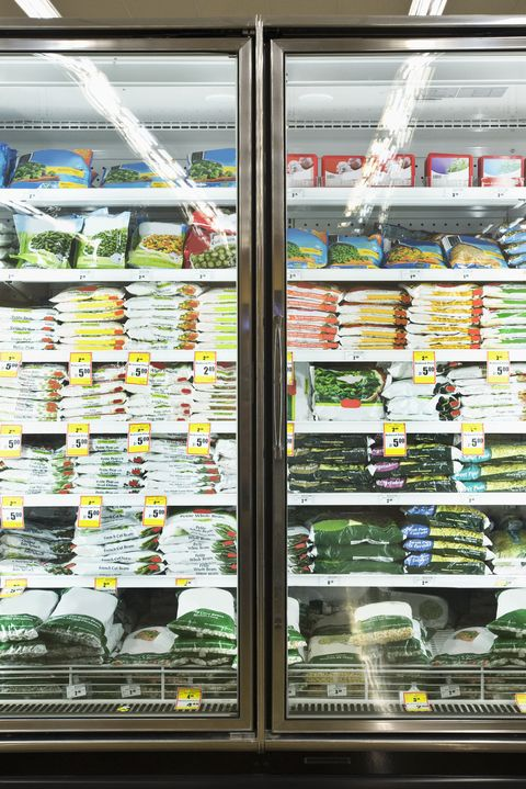 eating healthy on a budget - frozen food