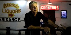 Live CNN Talk Show 'Parts Unknown Last Bite' Hosted By Anthony Bourdain