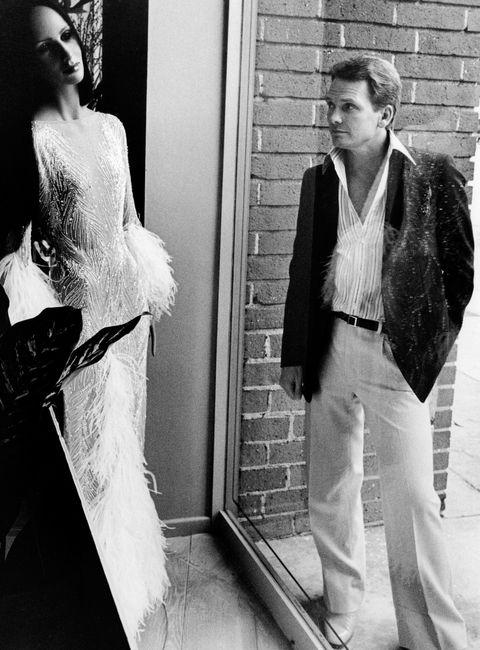 Photograph, White, Black-and-white, Clothing, Shoulder, Standing, Fashion, Monochrome photography, Dress, Monochrome,
