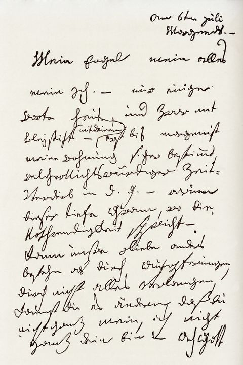 Letter From Ludwig Van Beethoven To The Immortal Beloved