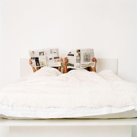 White, Bedroom, Bed, Furniture, Bed sheet, Room, Mattress, Bedding, Textile, Bed frame,