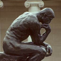 USA, California, San Francisco, the Thinker