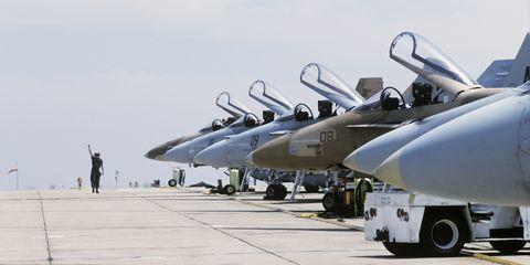 Airplane, Aircraft, Vehicle, Air force, Aviation, Fighter aircraft, Military aircraft, Ground attack aircraft, Grumman f-14 tomcat, Jet aircraft,