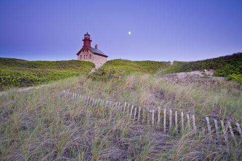 Block Island Lighthouse Rhode