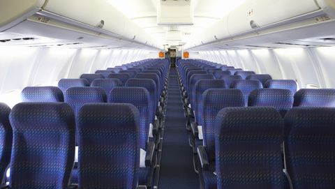 Aircraft cabin, Air travel, Aisle, Vehicle, Airplane, Airline, Airliner, Aircraft,