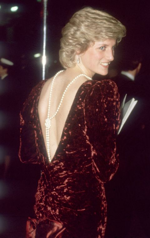 Princess Diana backlace