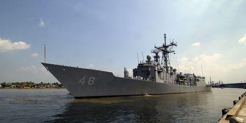 Naval ship, Warship, Vehicle, Boat, Destroyer, Guided missile destroyer, Ship, Navy, Dock landing ship, Battleship,