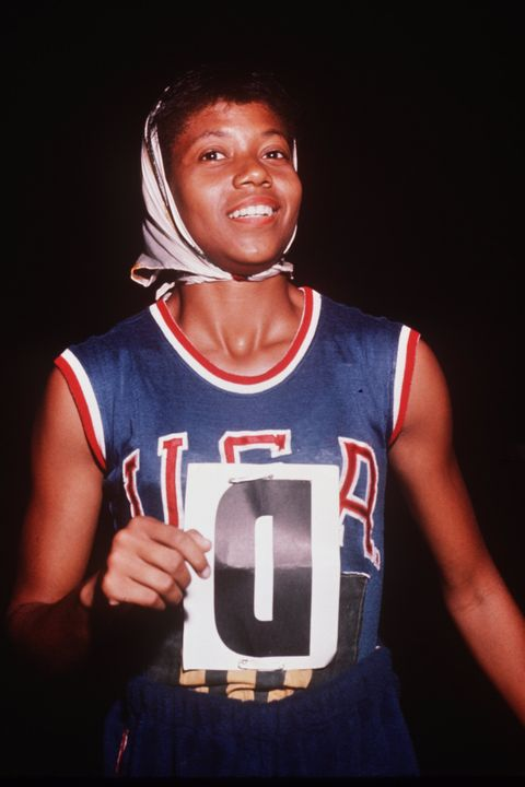 wilma rudolph, olympic sprinter usa, 1960 olympics, 1960 summer olympics, olympic track and field