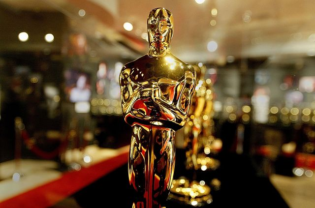 hollywood   february 20  a display case is seen full of oscar statues february 20, 2004 in hollywood, california these are the oscar statuettes that will be handed out on february 29 at the 76th academy awards ceremony and will be on display at the hollywood  highland entertainment complex  photo by carlo allegrigetty images