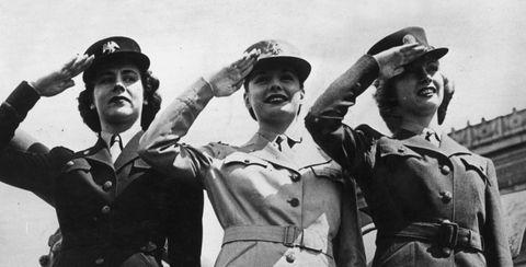 Photograph, Uniform, Standing, Vintage clothing, Crew, Headgear, Retro style, Military rank, Team, Military uniform,