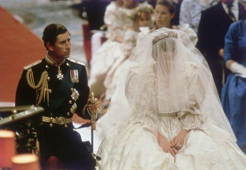 princess diana wedding photos