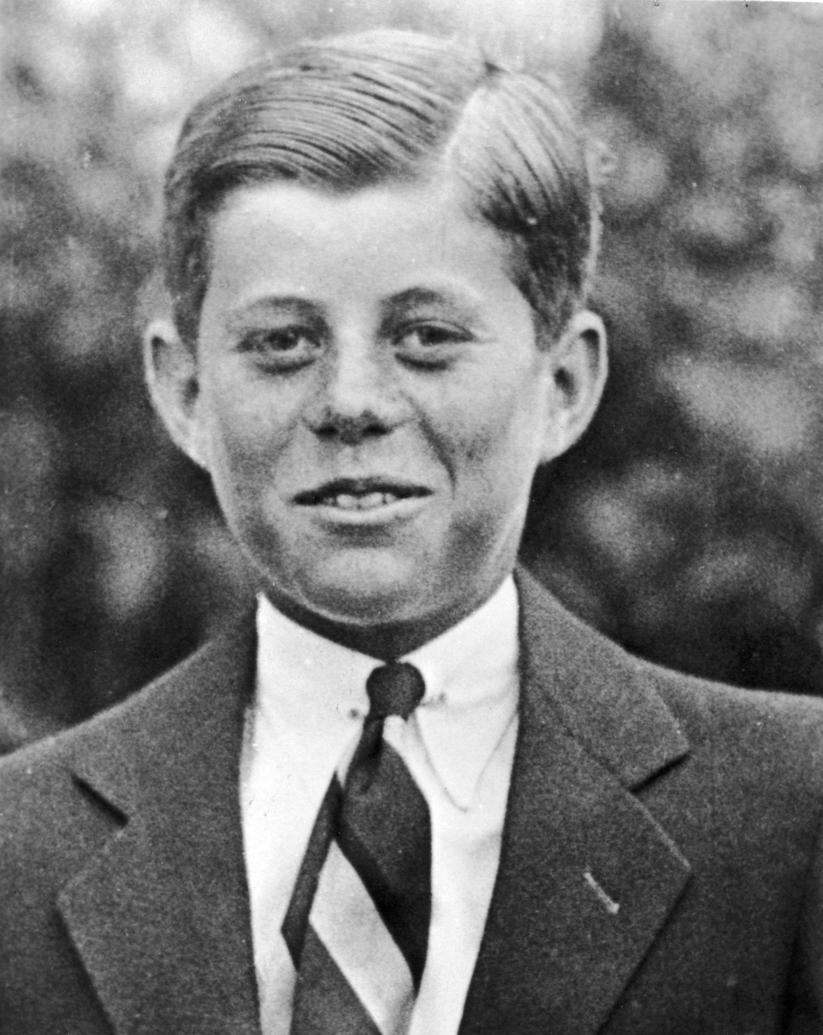 JFK as a boy