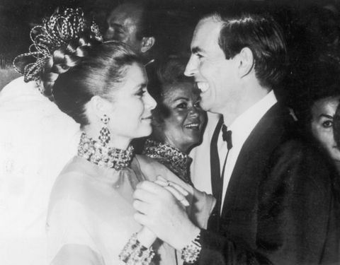 12th august 1967  dr christiaan barnard 1922   2001, south african pioneer of the heart transplant, dances with princess grace 1929   1982, president of the monaco red cross at the monte carlo red cross ball barnard was the guest of honour  photo by keystonegetty images