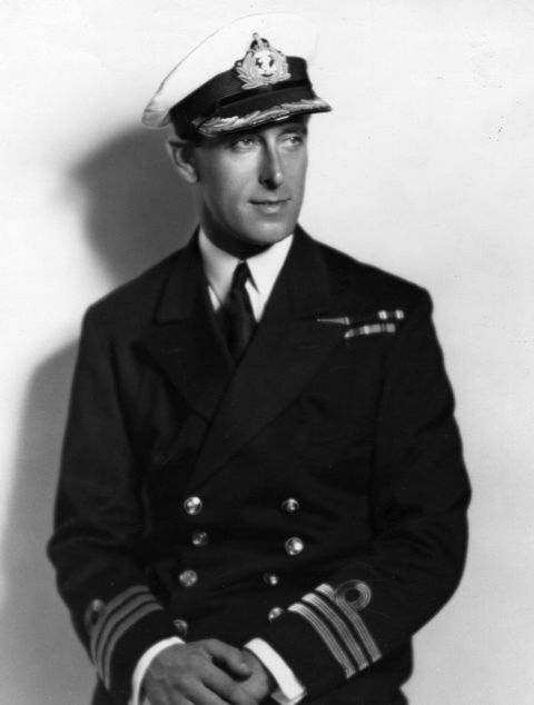 circa 1930  1st earl mountbatten in his naval uniform  photo by hulton archivegetty images