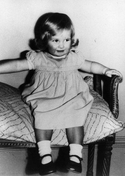 Princess Diana as a chubby-cheeked 2-year-old at Park House, Sandringham, Norfolk