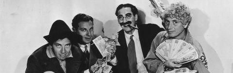 Marx Brothers Harpo Groucho Chico Zeppo Duck Soup