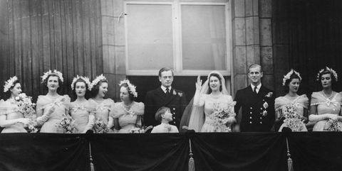 queen elizabeth bridesmaid