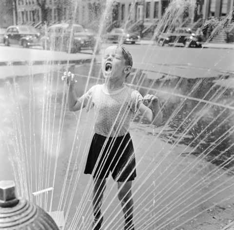 Drenched Child