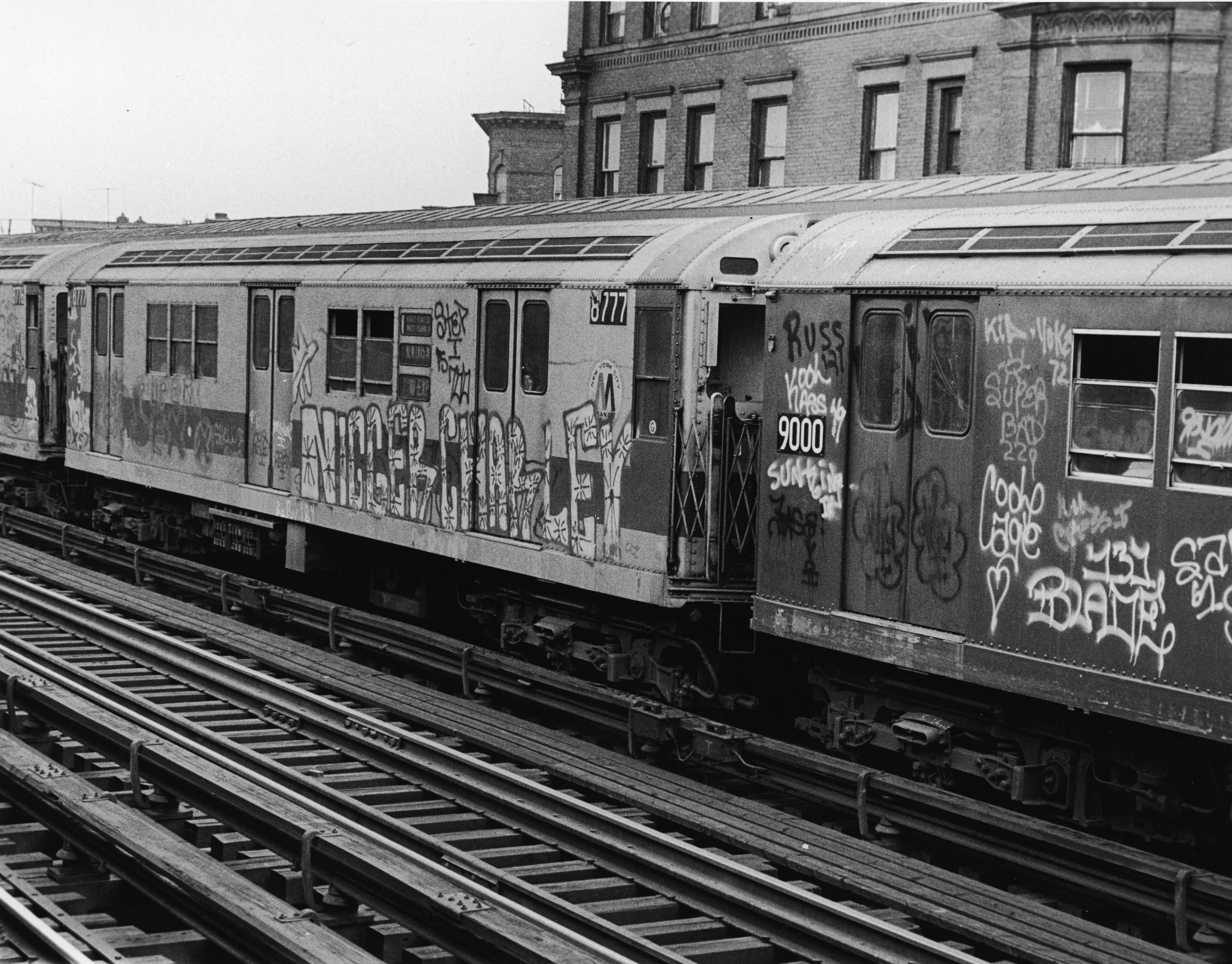 The new york city subway in the 1970s the photos