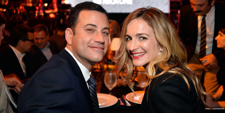 Jimmy Kimmel and Molly McNearny