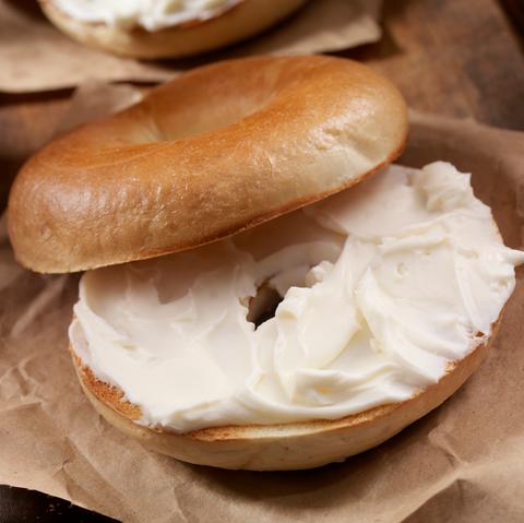 mcdonald's bagel extra cream cheese viral tweet