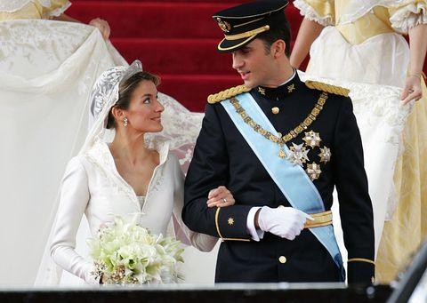 西班牙皇室,西班牙皇室婚禮,西班牙皇后