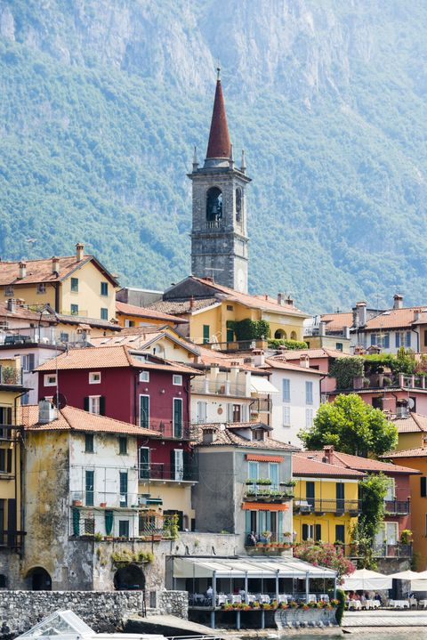 Town of Varenna on the shore Lake Como, Italy -XXXL