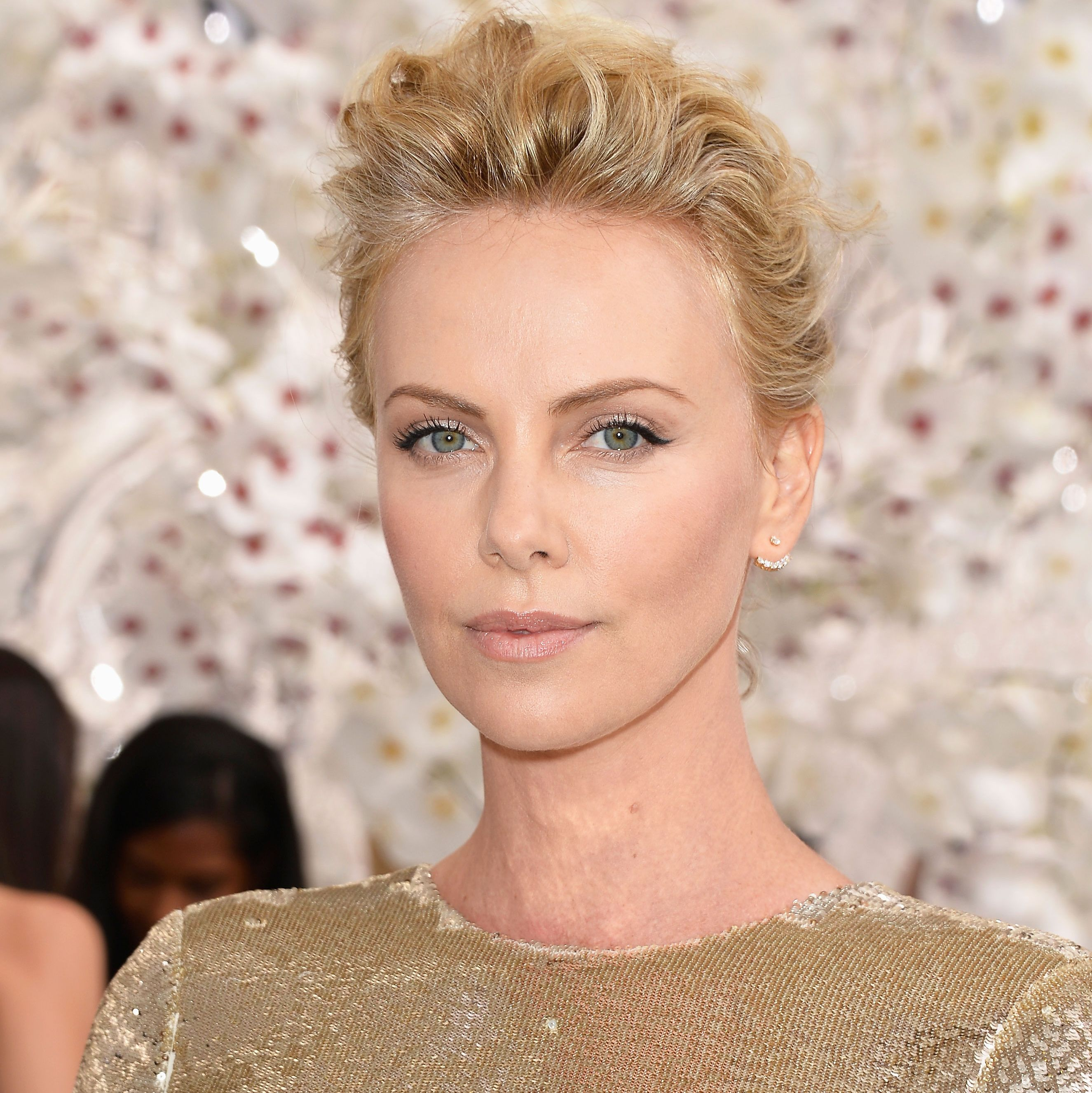 Charlize Theron Pompadour