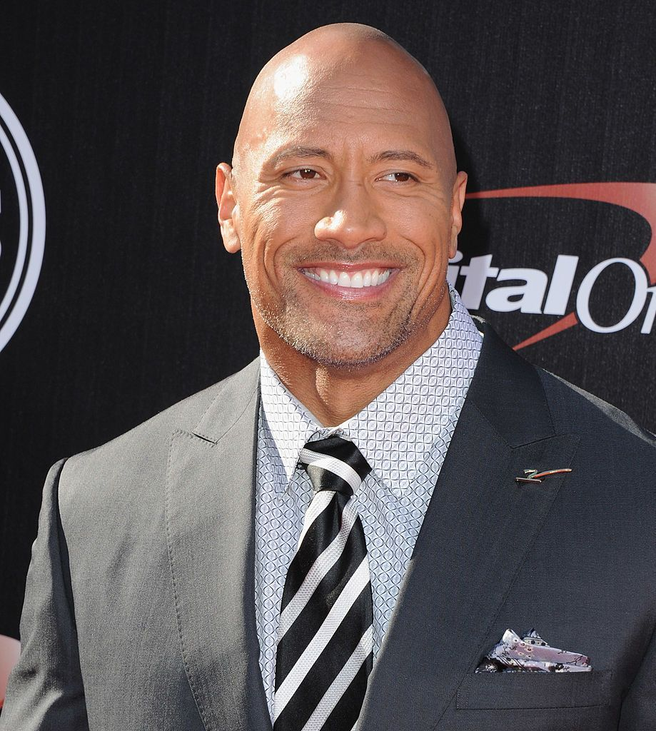 The Rock (head that's bare) Not only is the Rock, somehow, even better looking buzzed, he also, somehow, pulls off the subbled goatee. Not an easy feat.