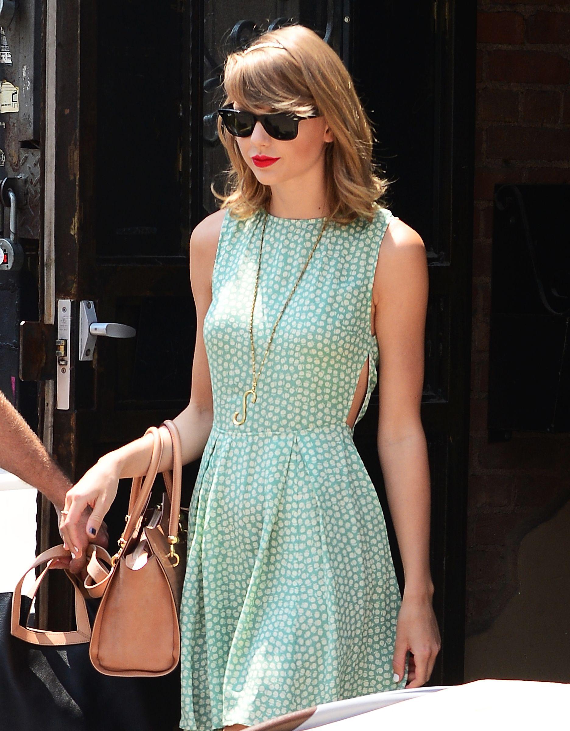 Celebrity Sightings In New York City - July 22, 2014