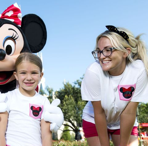 Jamie Lynn Spears Visits Walt Disney World