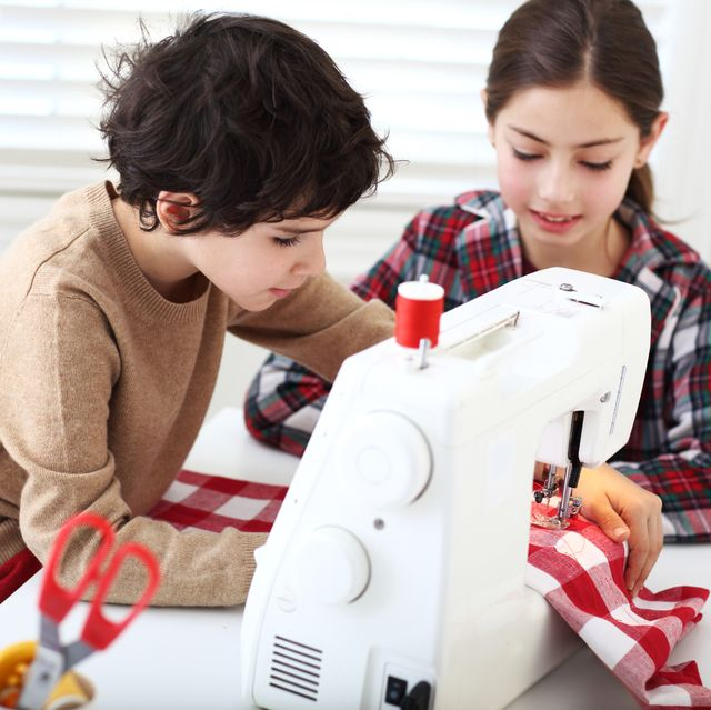 kids sewing new project