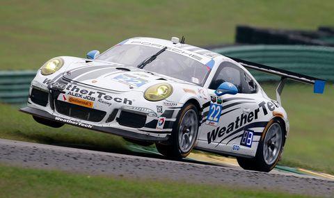 Porsche 911 Gt3 Driven By Leh Keen Around Barber Motorsport Park
