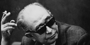 Movie Director Akira Kurosawa During An Interview