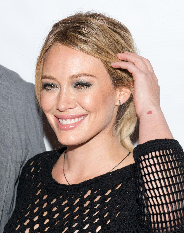 Hilary Duff Got Two Tiny, Intricate Tattoos from Daniel Stone