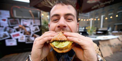 Food, Junk food, Fast food, Eating, Hamburger, Dish, Cuisine, Cheeseburger, Food craving, Finger food,