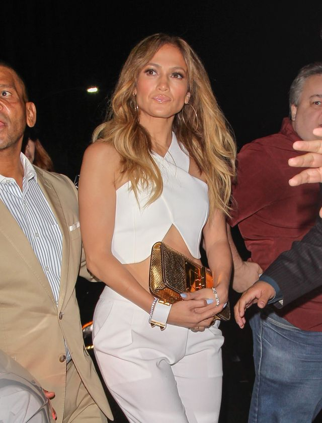 los angeles, ca   october 09 jennifer lopez is seen on october 09, 2014 in los angeles, california  photo by bauer griffingc images