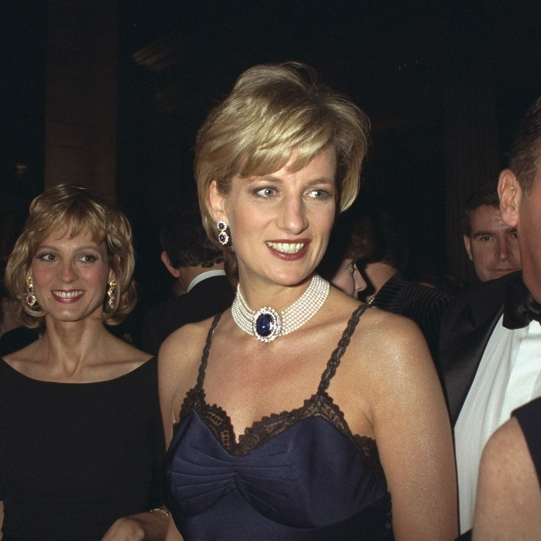Princess Diana Almost Didn't Wear Iconic Navy Dior Slip Dress For Fear Of Embarrassing Prince William