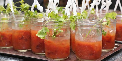 Bloody Mary bar essentials ingredients