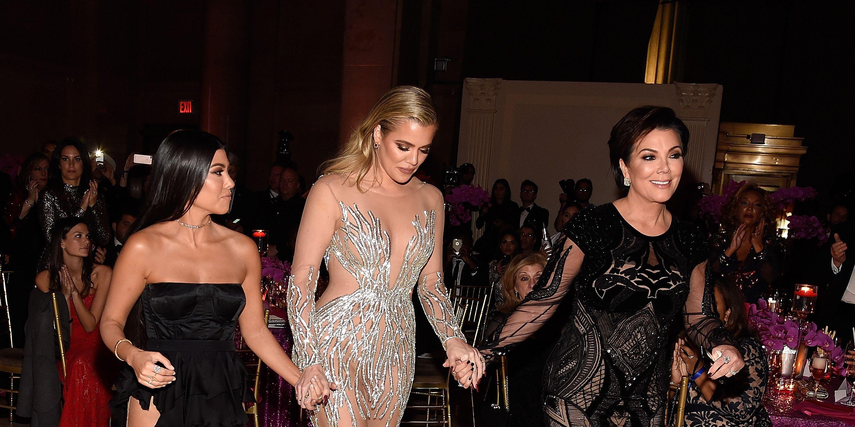 Kris Jenner, Khloé, Kourtney Kardashian