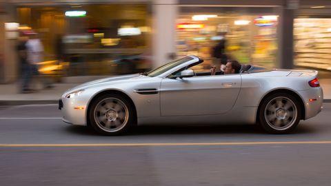Land vehicle, Vehicle, Car, Sports car, Automotive design, Personal luxury car, Aston martin v8 vantage (2005), Motor vehicle, Performance car, Aston martin vantage,
