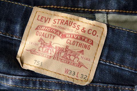 Denim, Jeans, Label, Pocket, Textile, Font, Trousers,