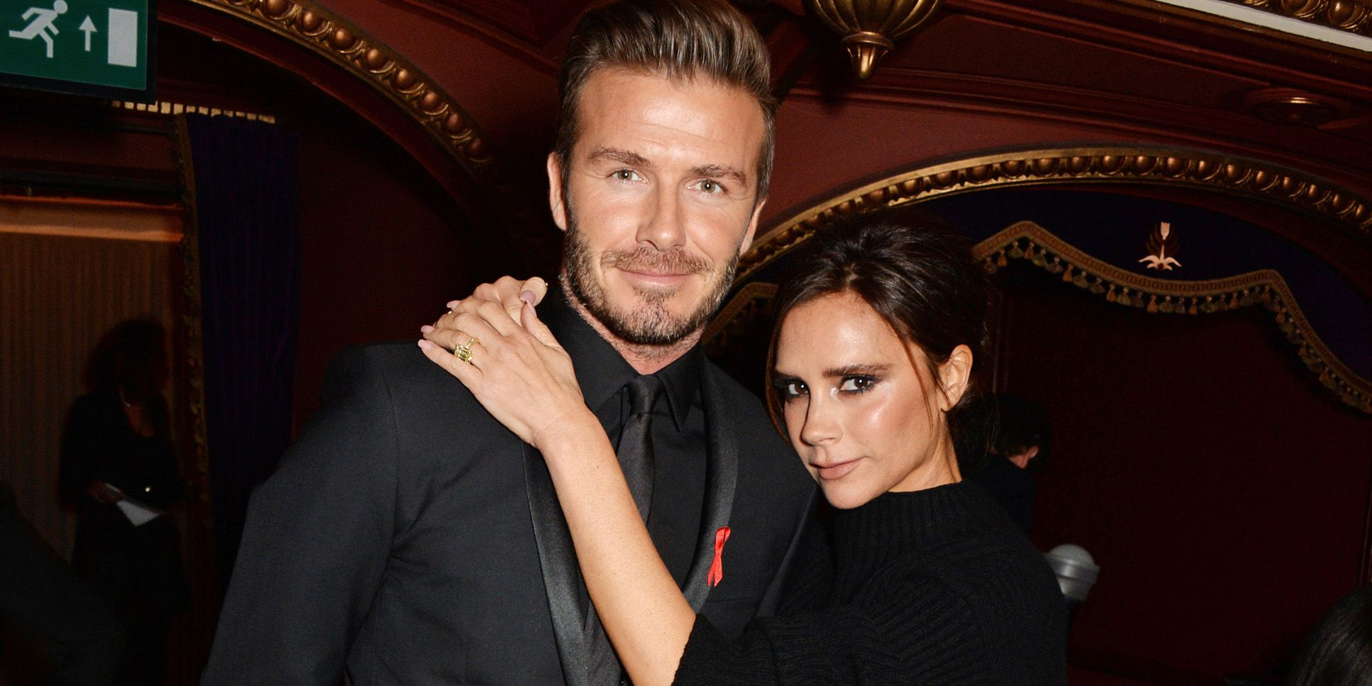 David Beckham's son surprised him on his birthday, and it's so truly