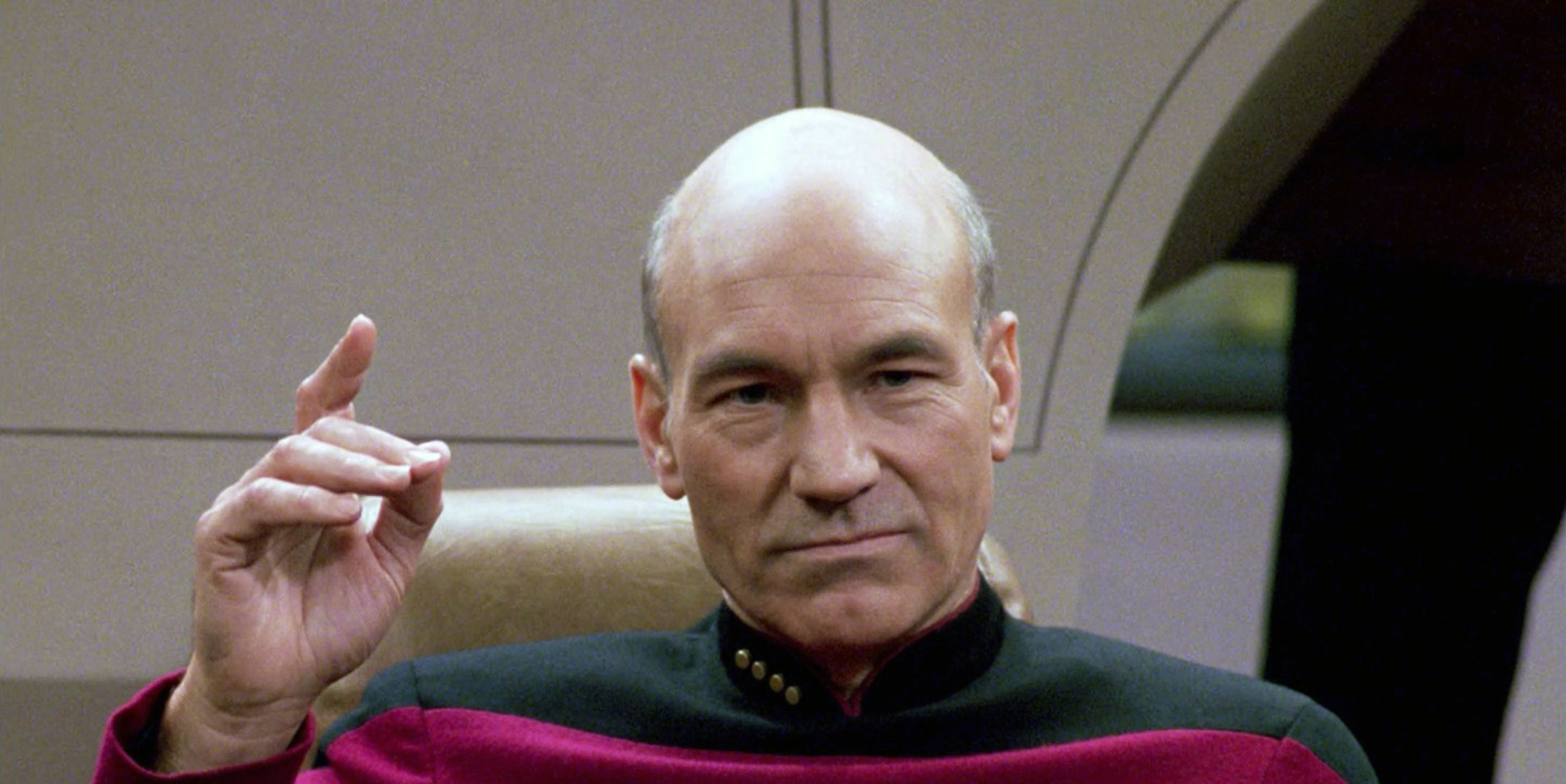 Patrick Stewart Throws His Hat in the 'Sexiest Man Alive' Ring