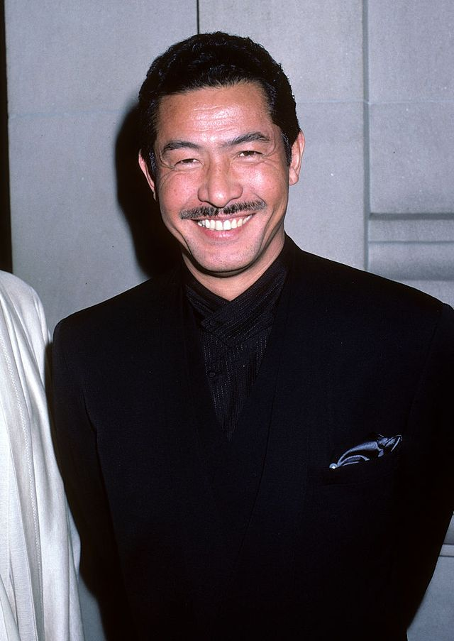 new york city   december 8   fashion designer issey miyake attends the metropolitan museum of arts costume institute gala exhibition of dance on december 8, 1986 at the metropolitan museum of art in new york city photo by ron galella, ltdron galella collection via getty images