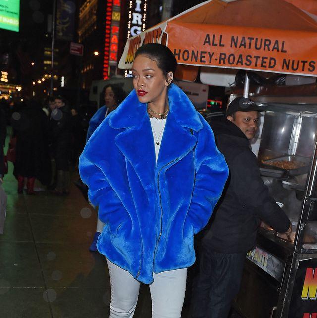 Celebrity Sightings In New York City - December 23, 2014
